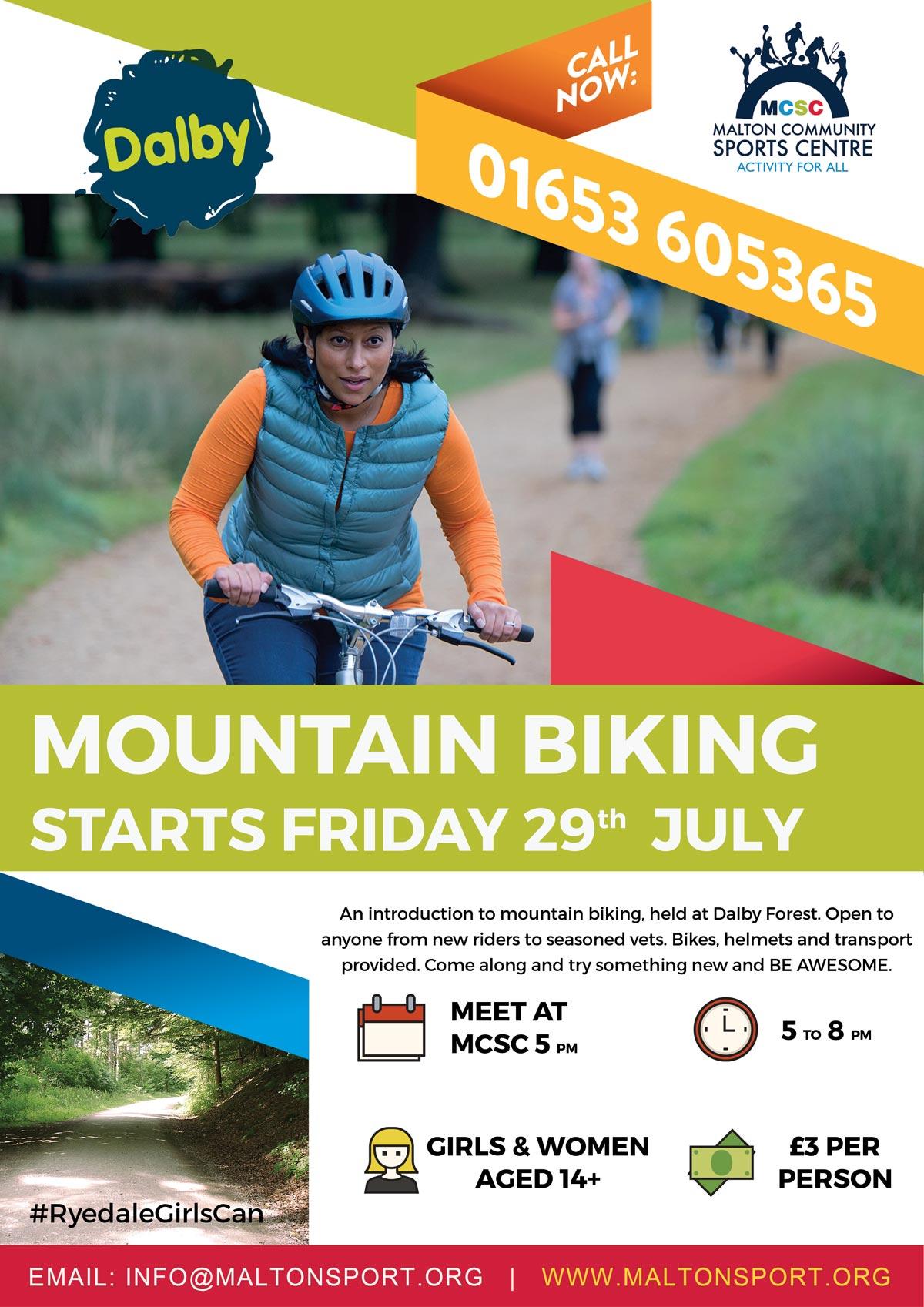Poster-Mountain-Biking